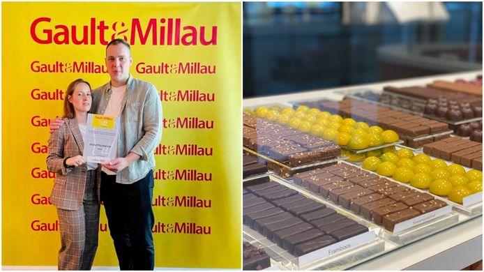 Jannes Deduytschaever (29) en zijn partner Karen Van Lysebeth (27) werden door Gault&Millau erkend als beste chocolatier van het jaar