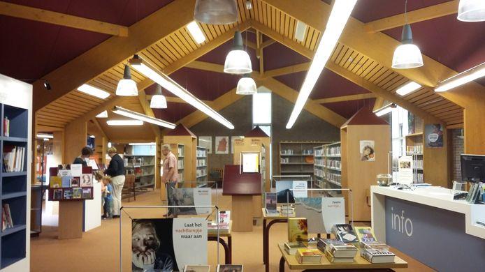 De bibliotheek locatie Brenthof in Sint-Michielsgestel is nog steeds open.