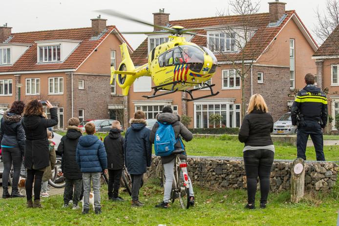 Traumahelikopters zouden 'geluidsruimte' afsnoepen van de commerciële gebruikers van de luchthaven Rotterdam.