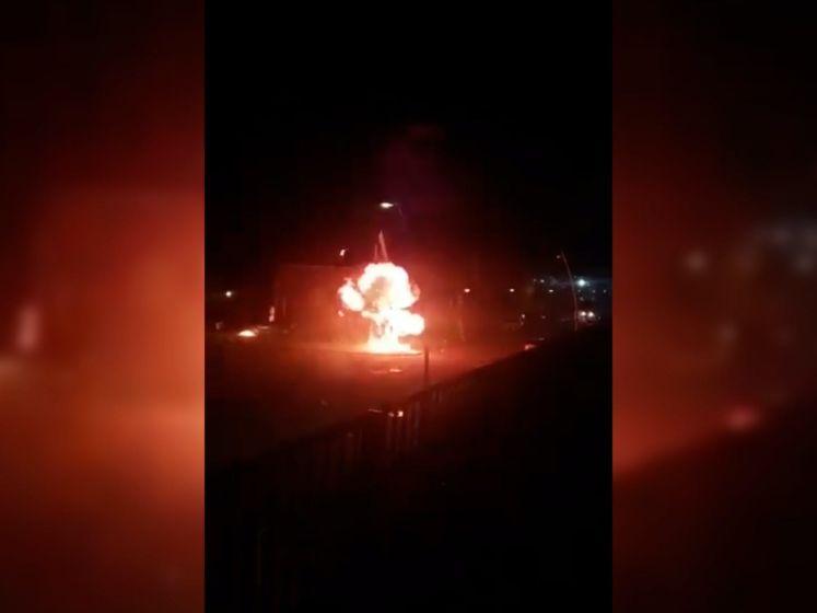 Ook onrust en vernielingen in Oosterhout en Breda, relschoppers de straat op