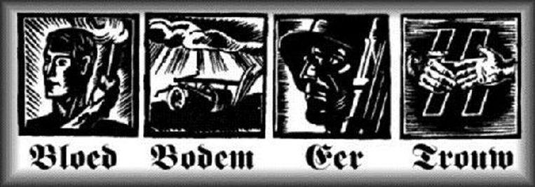 Bloed, Bodem, Eer & Trouw. Beeld RV
