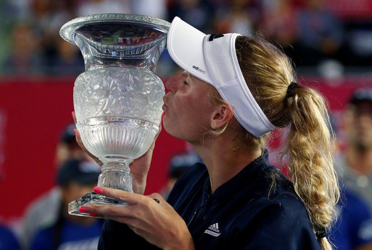 Caroline Wozniacki, winnares in 2016. Beeld REUTERS