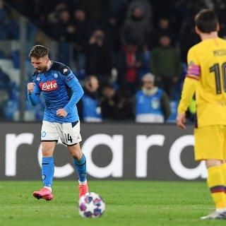 Meer Mertens dan Messi in huis Maradona; Napoli – Barcelona 1-1