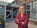 Inge van Beers, fractievoorzitter van Algemeen Belang in de gemeenteraad van Oisterwijk.