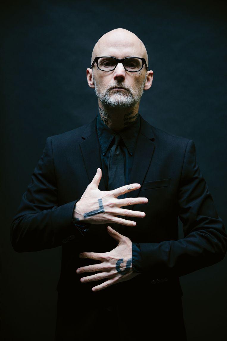 Moby (Richard Melville Hall): 'Met orkestversies van mijn grootste hits was een groter publiek verzekerd.' Beeld Travis Schneider