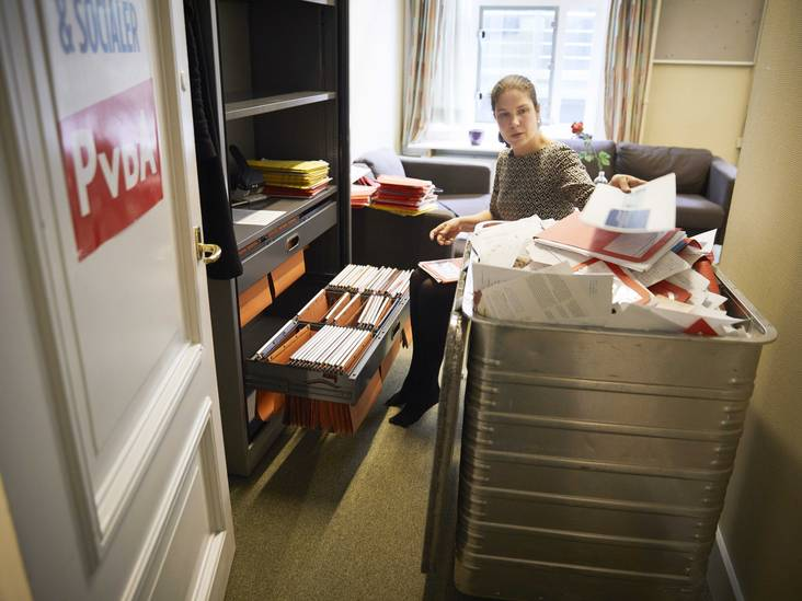Woerdense Loes Ypma (PvdA) neemt afscheid van de tweede kamer