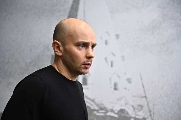 Andrei Pivovarov in Moskou in maart van dit jaar. Beeld REUTERS