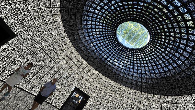 Het Russische paviljoen tijdens de biënnale in 2012. Beeld epa