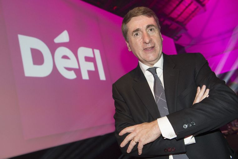 Défi-voorzitter Olivier Maingain.