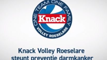 VIDEO: Volleyteam Knack Roeselare roept op je te laten testen op darmkanker