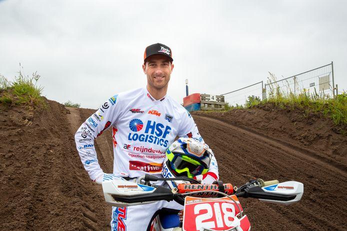 Hans Vogels uit Best gaat op voor zijn tiende NK-titel enduro.