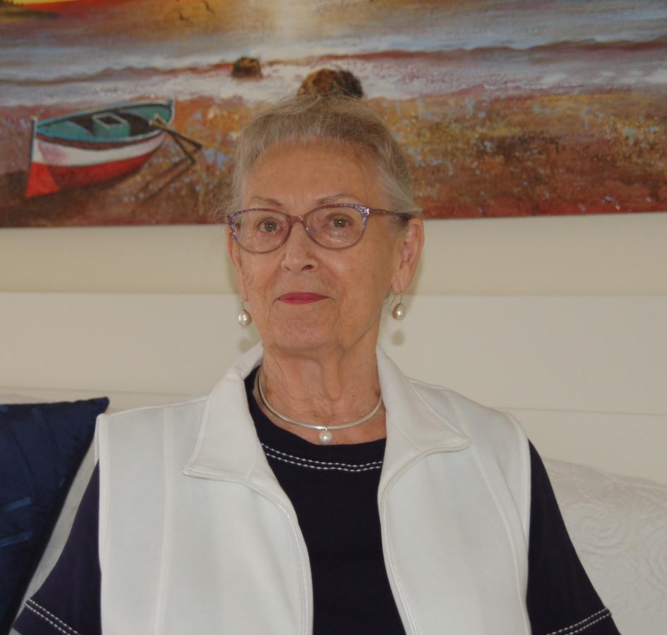 Jenny Kievit-Hitzert in Australië.