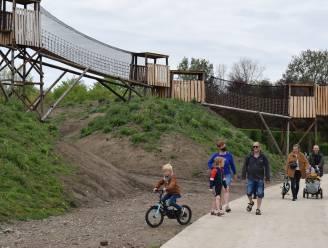 Hangbrug van 200.000 euro kers op de taart van nieuw landschapspark Puyenbroeck