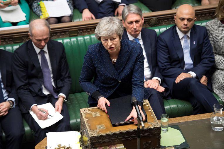 Brits premier Theresa May. Beeld REUTERS