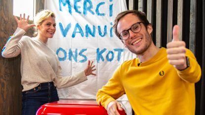 Jens Dendoncker houdt zich creatief bezig en Laura Tesoro werkt aan haar clubtour in 'Blijf In Uw Kot'