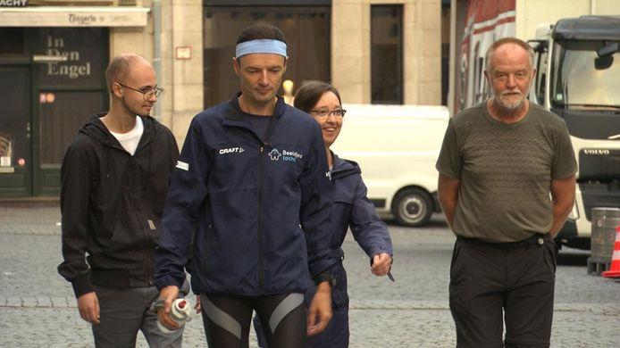 Johan Swinnen is er klaar voor: een nieuwe tocht waarbij dagelijks tot 100 kilometer wil afleggen.
