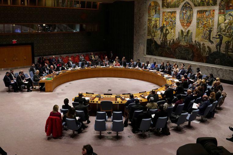 Archiefbeeld. De Veiligheidsraad van de Verenigde Naties. Beeld REUTERS