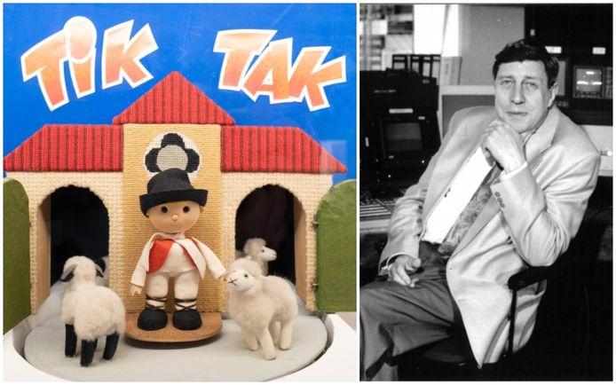 In het Speelgoedmuseum in Mechelen start vandaag een tentoonstelling over het werk van Mil Lenssens, nog het meest bekend als bedenker en regisseur van de originele 'Tik Tak'.
