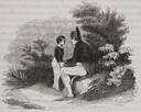 Napoleon met Tristan, één van de drie kinderen van zijn minnares Albine de Montholon.