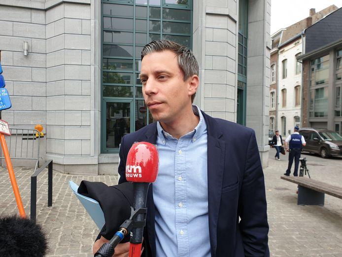 Me Hans Valkenborg, l'avocat de Lahoussine El Haski, le beau-frère de Bouloudo.