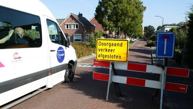 Verkeersprobleem in centrum Dussen door wegwerkzaamheden en afsluiting voor kermis