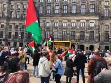 Honderden demonstranten verzamelen zich voor pro-Palestina-demonstraties