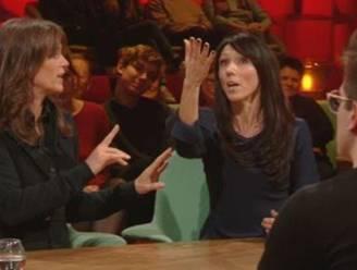 Felle discussie tussen Pascale Naessens en Sandra Bekkari in 'Van Gils en Gasten'