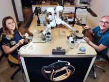 Goudsmeden Derk en Mariska Mathon willen duurzaam werken