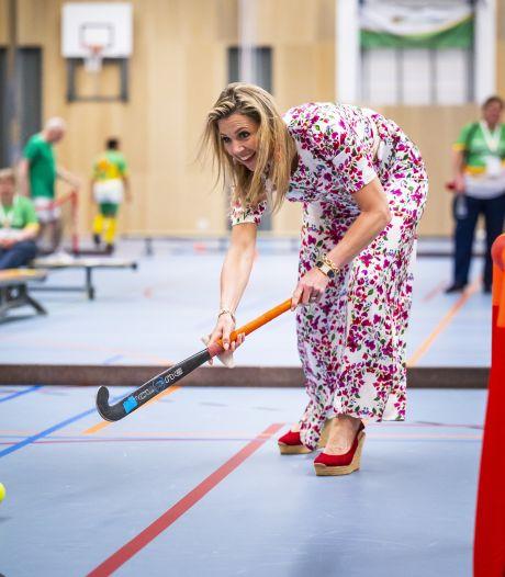 Gemist? Koningin Máxima verrast sporters en Parkpop terug naar het Zuiderpark?