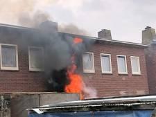 Brandstichting bij huis in Middelburg
