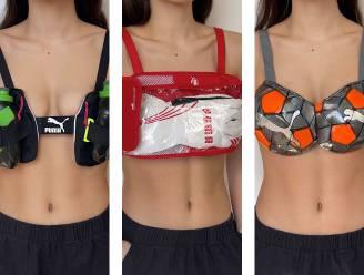Puma verloot sportbeha's gemaakt uit voetballen en rugzakken voor het goede doel