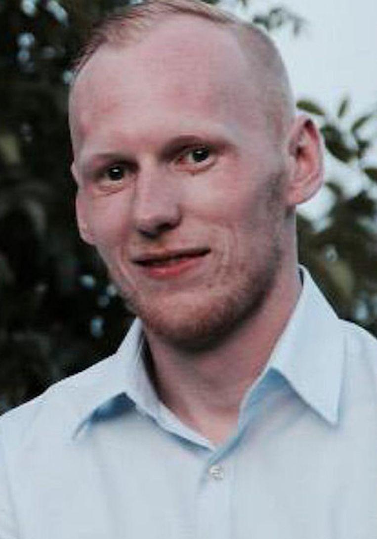 Frederik Pallesen. Beeld Opsporing Verzocht