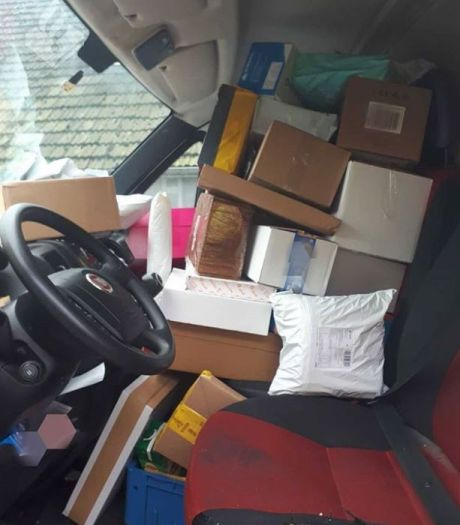 Pakketbezorger in Apeldoorn vindt bekeuring voor te weinig zicht 'onzin'