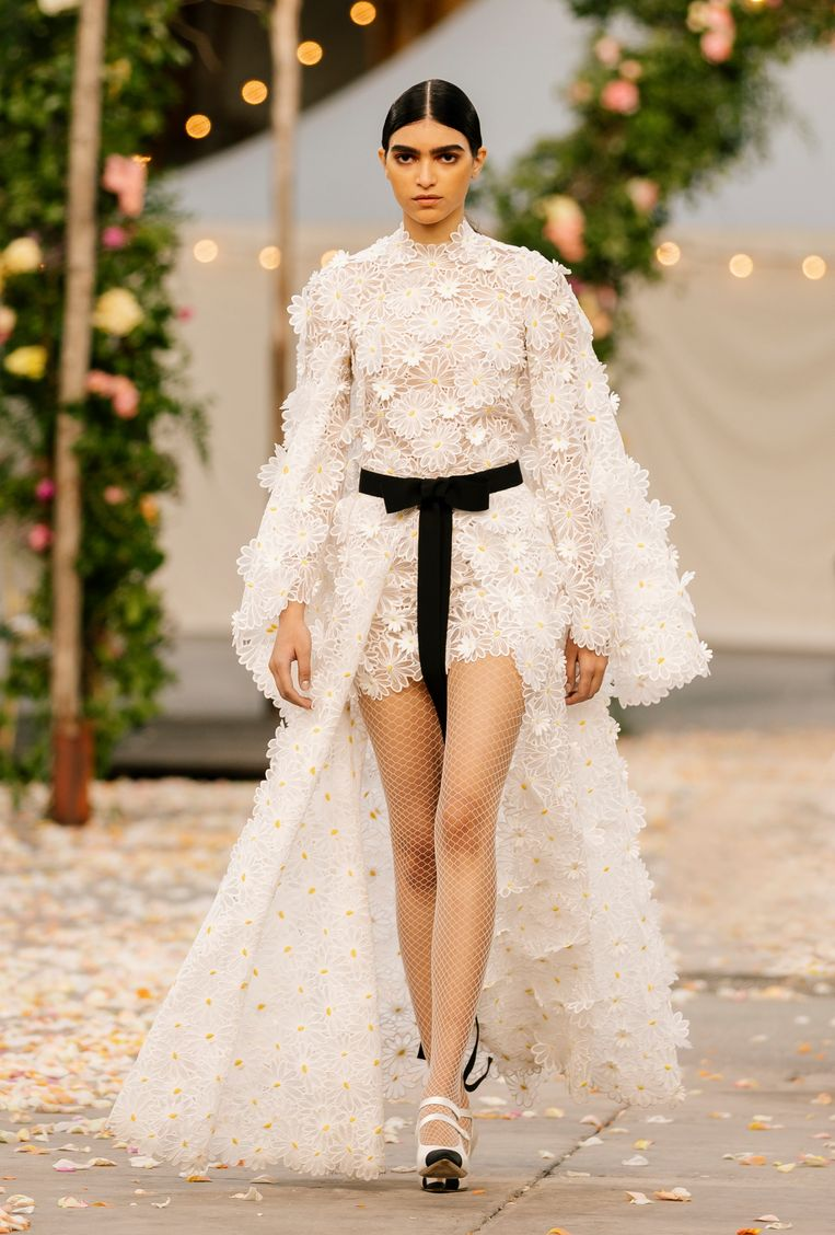 Chanel, haute couture zomer 2021. Beeld Imaxtree