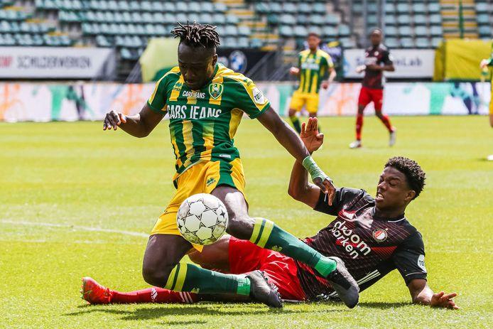 Ook Tyrell Malacia kon afgelopen weekend de smadelijke nederlaag van Feyenoord op bezoek bij ADO Den Haag niet voorkomen.