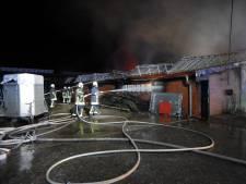 Koeien en stieren komen om bij brand in Lünten-Nork