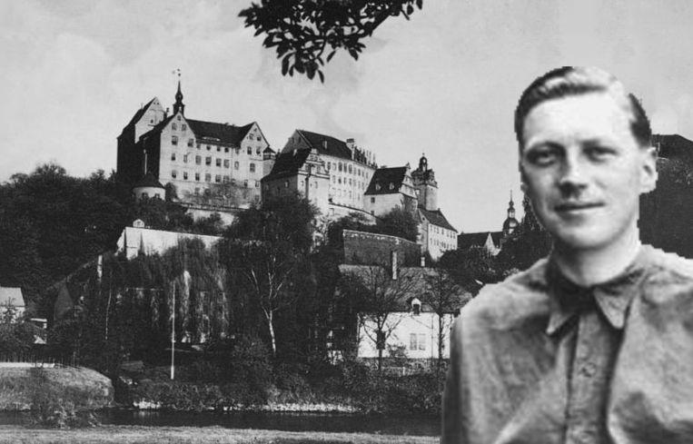 Airey Neave ontsnapte uit de beruchte gevangenis van Colditz. Beeld RV