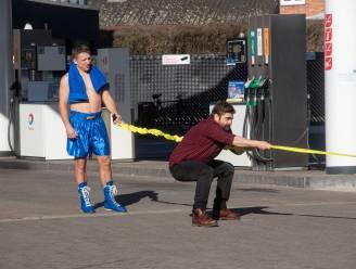 Wesley Sonck en Pedro Elias trekken de Container Cup opnieuw op gang op Total parking in Wetteren