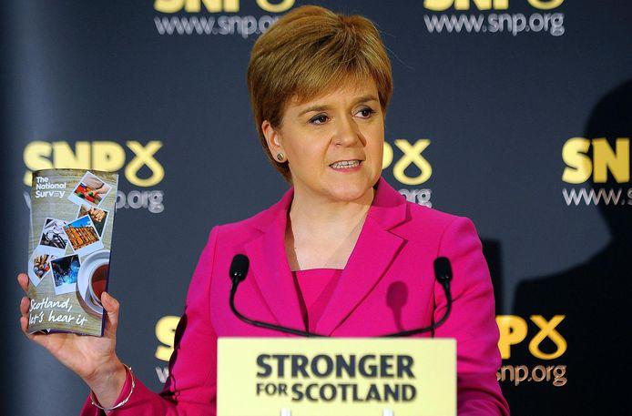 Nicola Sturgeon, Première ministre d'Ecosse