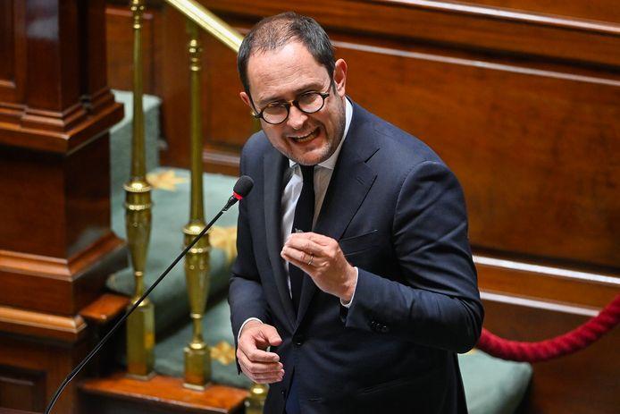 Minister van Justitie Vincent Van Quickenborne (Open Vld).
