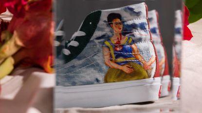 Nieuwe sneakercollectie brengt ode aan Frida Kahlo