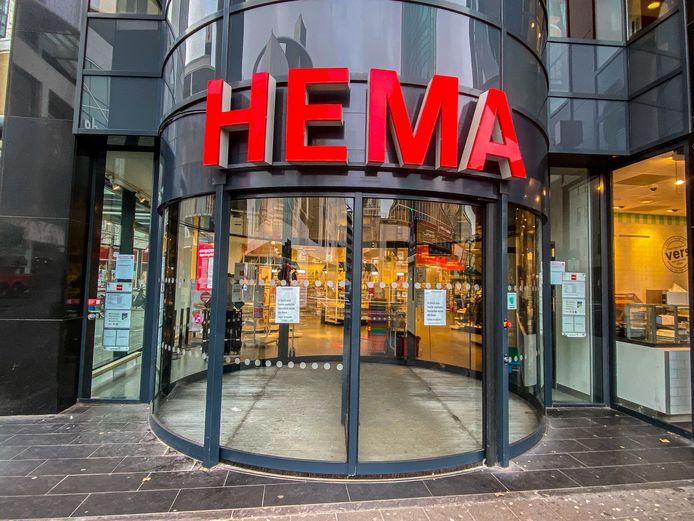 Honderden Hema-winkels zijn sinds half december gesloten.