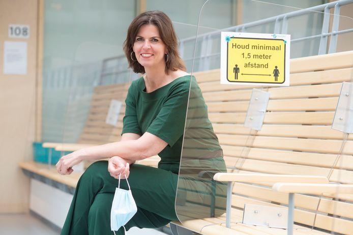 Astrid Posthouwer, van de Raad van Bestuur van Meander Medisch Centrum
