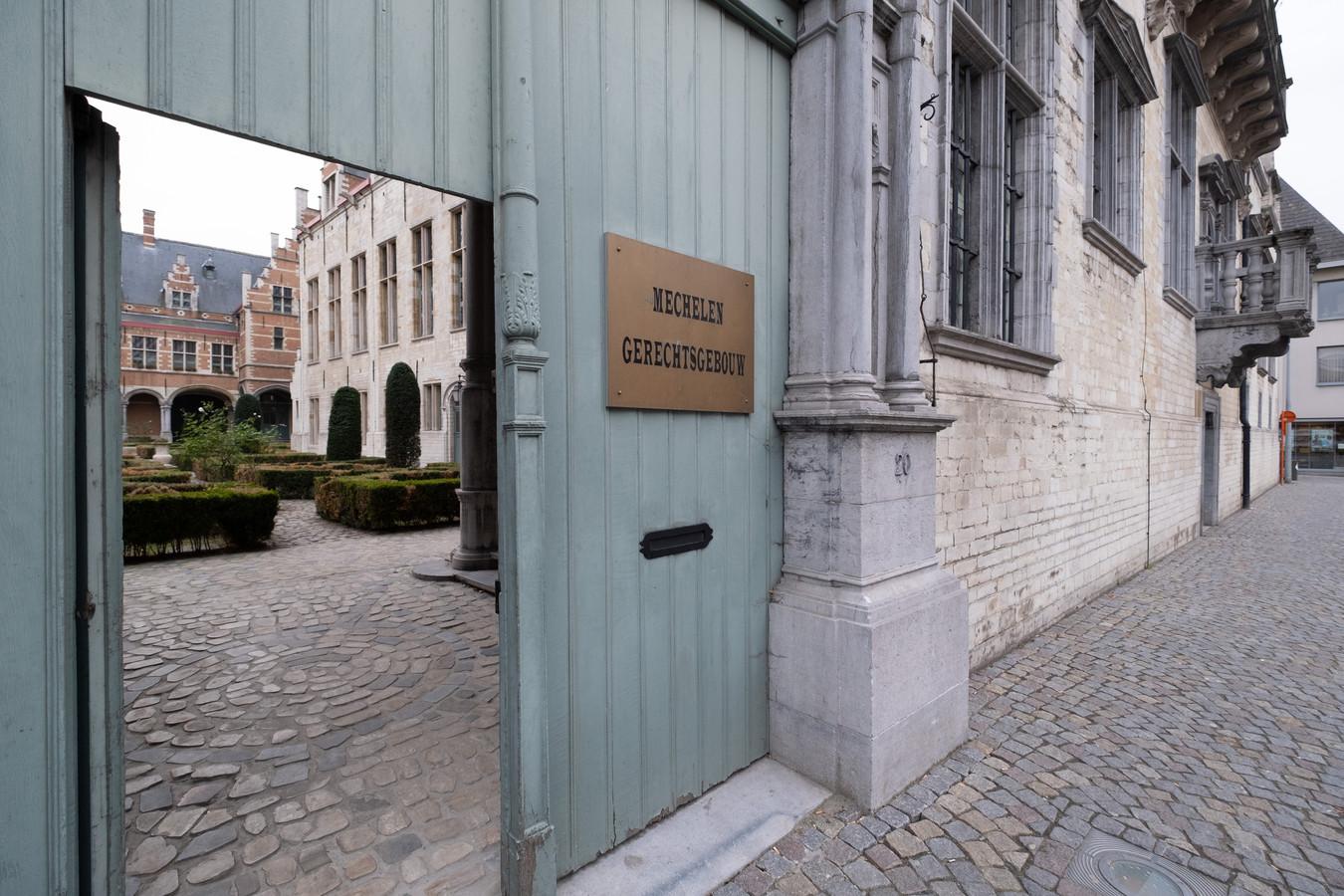 MECHELEN - Het gerechtsgebouw in Mechelen.