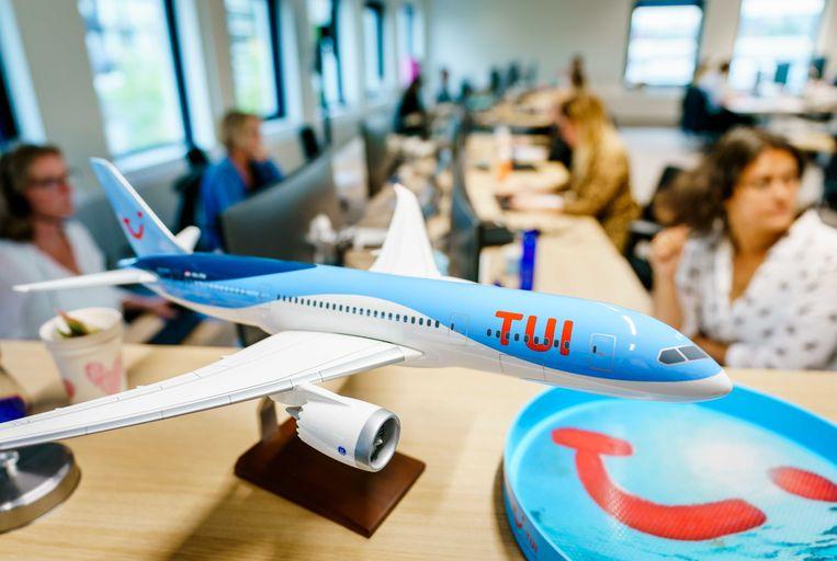 Reisorganisatie TUI zoekt dertig nieuwe reisagenten om aan de stijgende vraag te kunnen voldoen. Beeld ANP