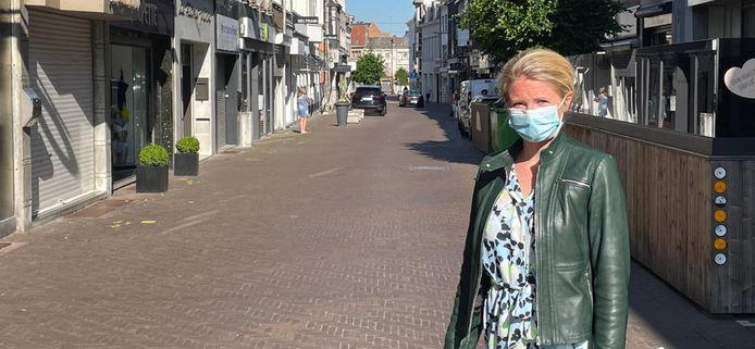 Schepen Evelien De Both is tevreden dat de leegstand voor het tweede jaar op rij daalt.