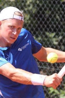 Salland-tennisser Sels strandt in eindstrijd