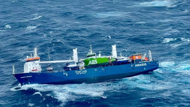 Nederlands vrachtschip op drift voor Noorse kust
