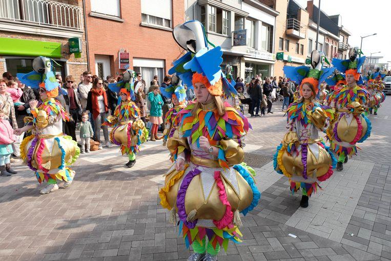 Carnavalstoet van De Gilde Der Verbande Puttenaars