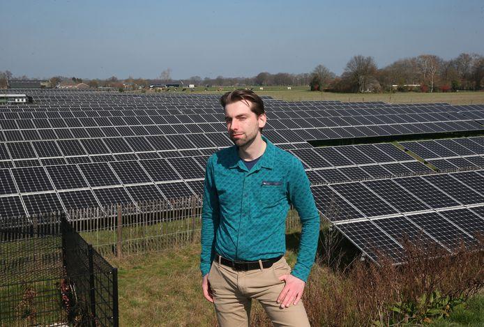 """Wethouder Paul Hofman van Bronckhorst: ,,Er moet een mix komen tussen wind- en zonne-energie."""""""